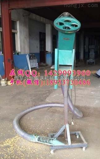 物流发货kd-2小型软管吸粮机,稻谷电动上料机