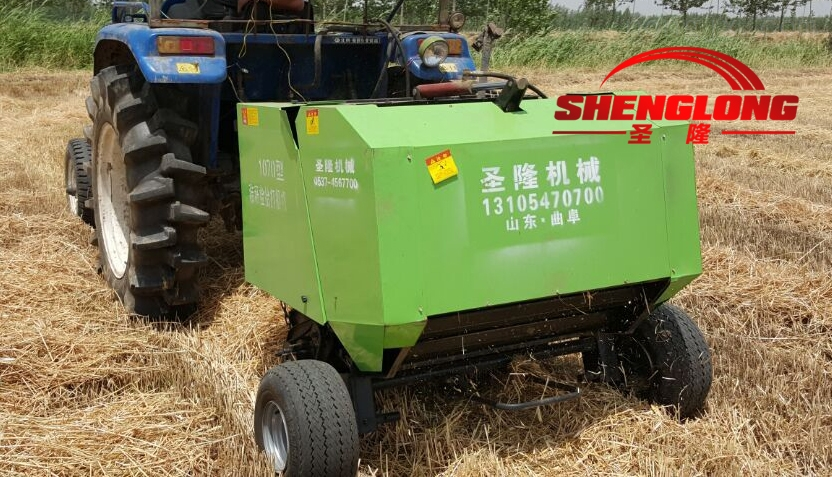 卷捆机 打捆耐用新款专业打捆机 麦草打捆机