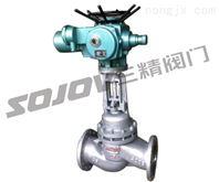 铸钢法兰式电动柱塞截止阀,不锈钢电动柱塞截止阀,硬密封电动柱塞截止阀