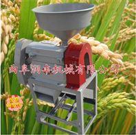 水稻脱皮碾米机价格 碾米磨面机规格 谷子脱皮碾米机