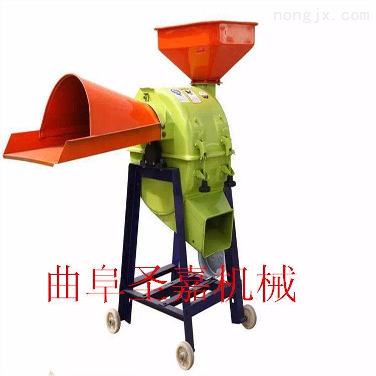 河南鲜秸秆切碎机 优质铡草机 家用小型铡草机性能